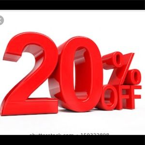 Other - 20% OFF 2+ items!!! Limited time!!!